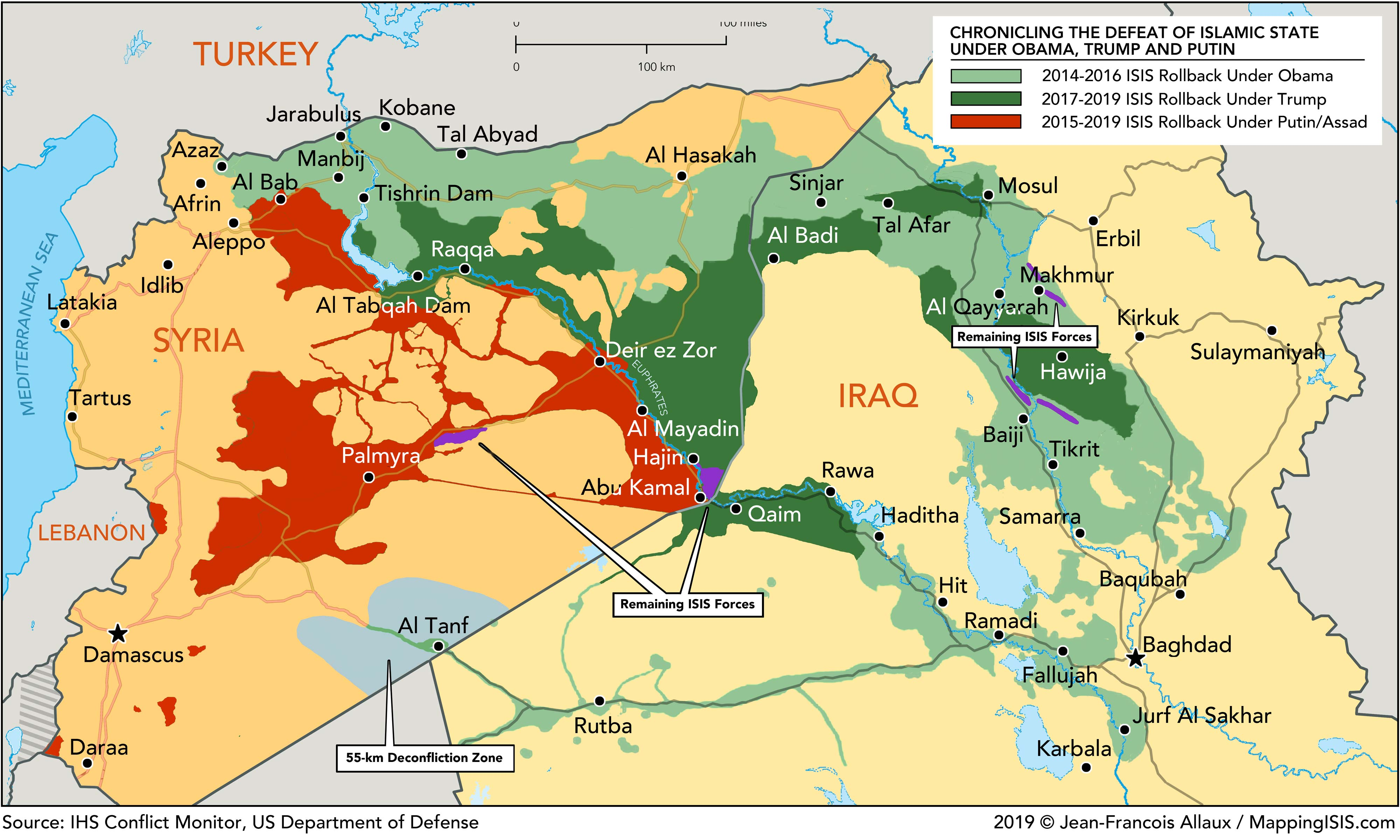 Maps Mapping Isis